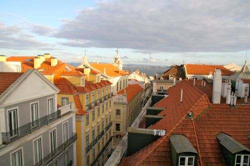 One of the spectacular views from our Lisbon headquarters.
