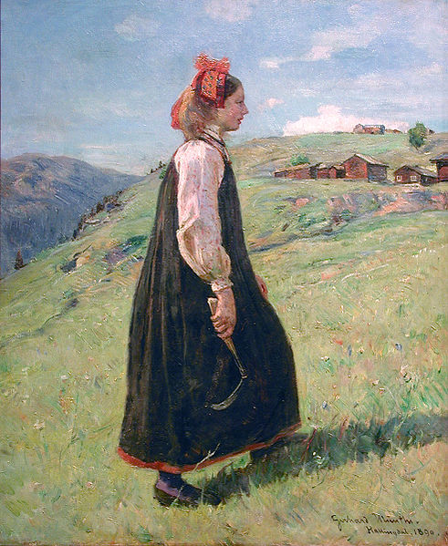 "Gerhard Munthe ""Budeia"" 1890"